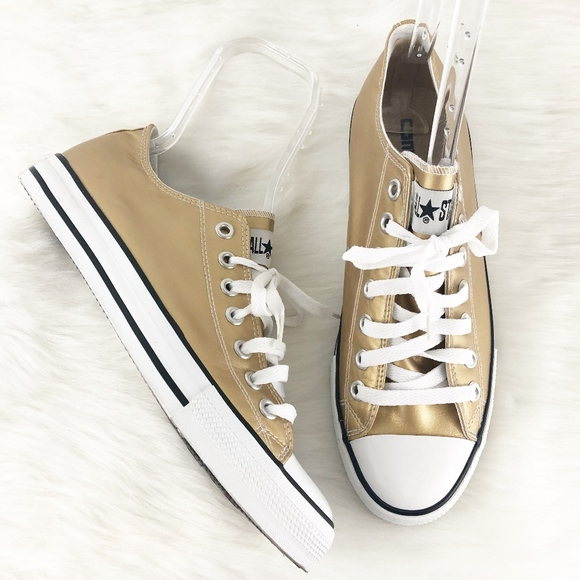 e117a4655f8d Converse Shoes - Converse All Star Gold Low Top Sneaker